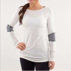 LULULEMON Devotion Long Sleeve Tee T-Shirt Thin St
